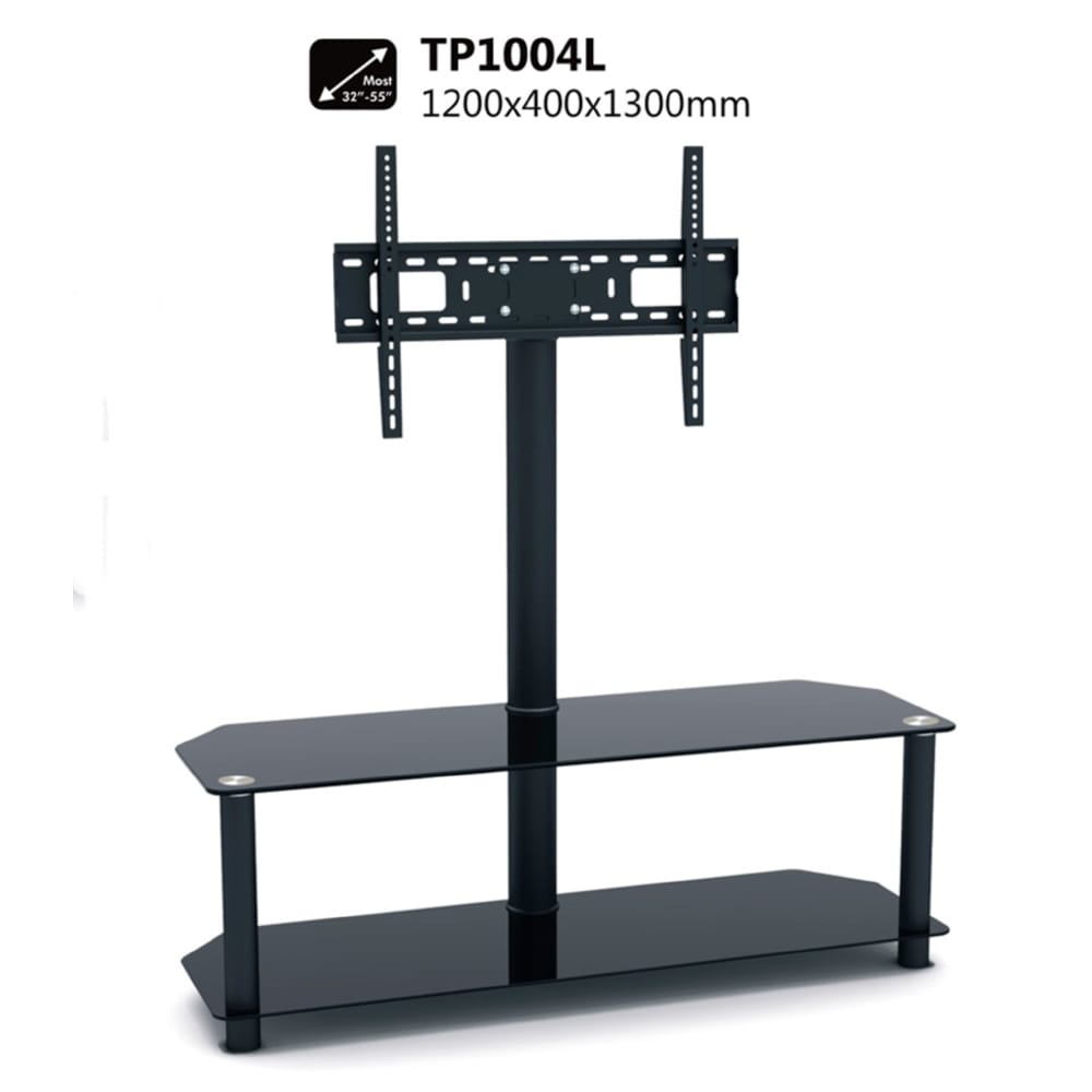 32 To 55 Glass And Metal Led Lcd Tv Stand Tp1004l True Vision