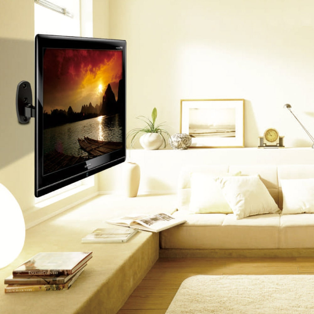 23″ to 42″ VESA Full Motion LCD LED TV Wall Mount Bracket TV Holder Monitor LDA02-221 | True Vision Philippines