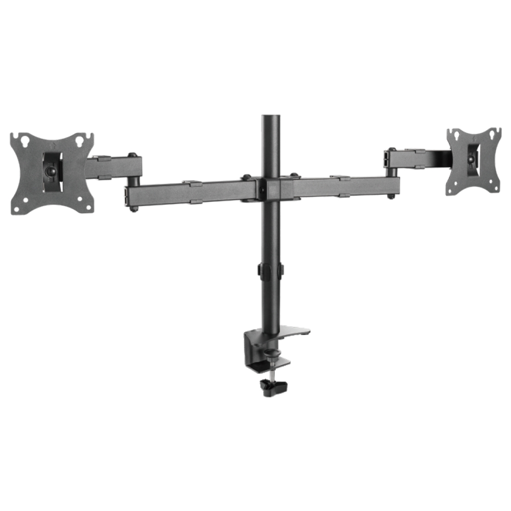 17″ to 27″ Economical Dual Monitor Arms LDT24-C024 | True Vision Philippines