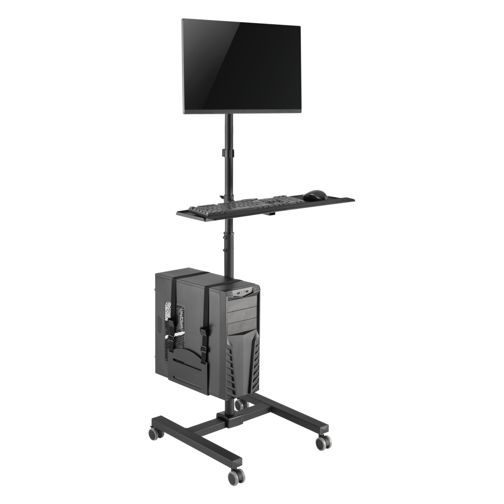 17″ to 32″ Integrated Computer Mobile Carts for FWS04-1 | True Vision Philippines