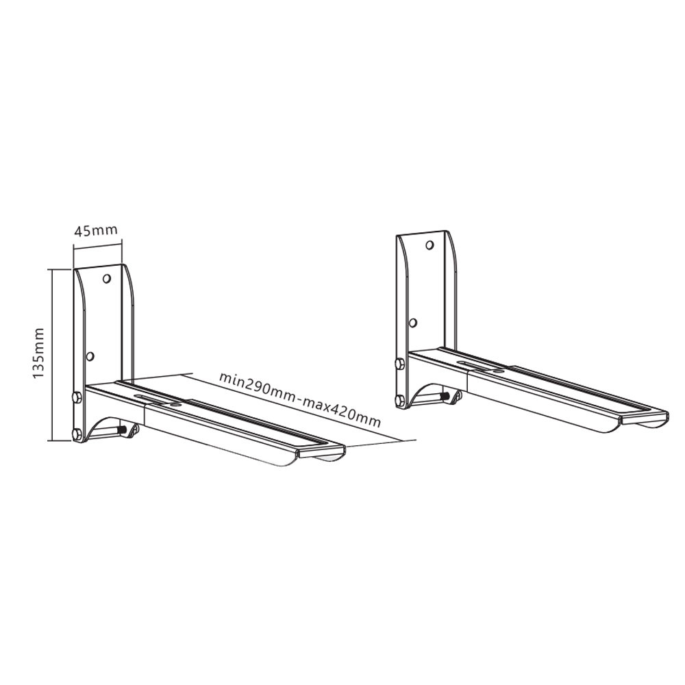 Affordable Easy-Fixed Wall Mount For Microwave Oven MB-5 for sale Philippines. Supplier of Easy-Fixed Wall Mount For Microwave Oven MB-5 wholesale price.
